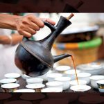 Kaffe Gebena hos East Africa Restaurant på Kvilletorget